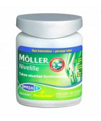 Moller Omega 3 Nivelille 76 капсул. Витамины для суставов.