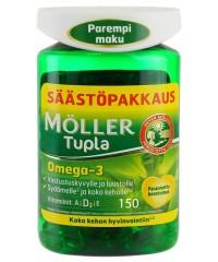 Moller Tupla Omega-3-160 капсул.
