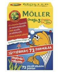 Möller Omega 3 Pikkukalat 72 шт.