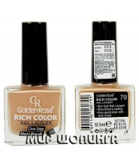 Лак для ногтей Golden Rose Rich Color №79.
