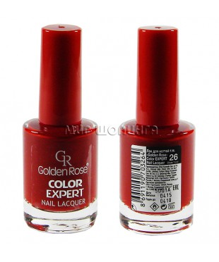Лак для ногтей Golden Rose Color Expert № 26.