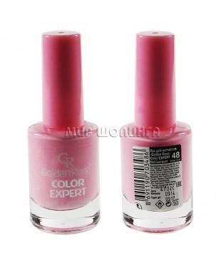 Лак для ногтей Golden Rose Color Expert № 48.