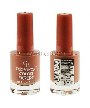 Лак для ногтей Golden Rose Color Expert № 102.