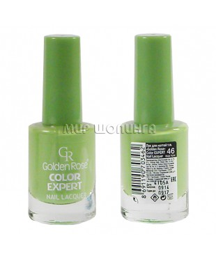 Лак для ногтей Golden Rose Color Expert № 46.
