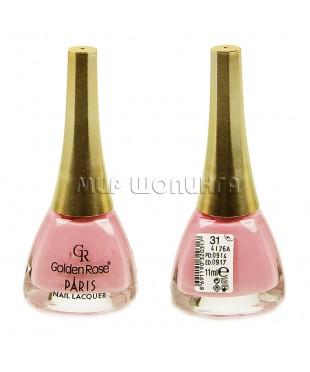 Лак для ногтей Golden Rose Paris № 31.