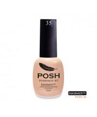 SANDWICH GEL POSH 35 - Первое впечатление (марципановый)