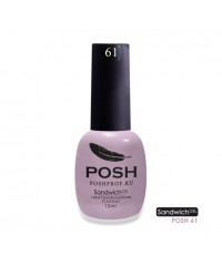 SANDWICH GEL POSH 61 - Лавандовый мусс