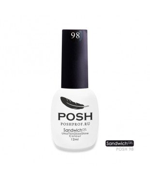 SANDWICH GEL POSH 98 - Белый френч