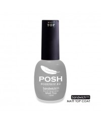 SANDWICH GEL POSH Matt Top - Матовый Топ
