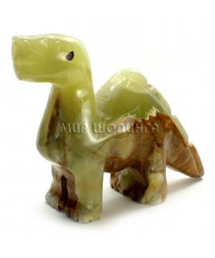 Динозавр из оникса 8*3,5*10 см.