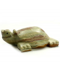 Черепаха из оникса 13*10,5*4 см.