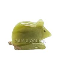 Мышь из оникса 5х3,3 см.