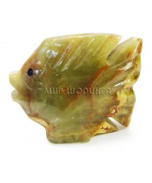Рыба из оникса 6,5*7,7 см.