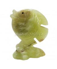 Рыба из оникса 10,4 см.