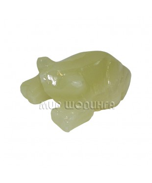 Лягушка из оникса 2,6*5,5 см.