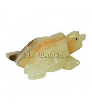 Черепаха из оникса 8*7*3,5 см.