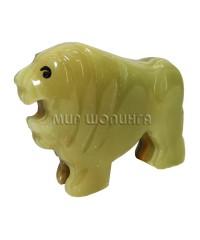 Лев из оникса 5*6 см.