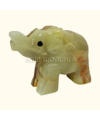 Слон из оникса 4,5*5,5 см.