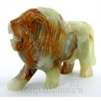 Лев из оникса 9,5 см.