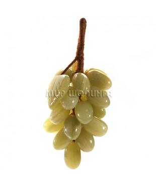 Гроздь винограда из оникса 13*5,5 см.