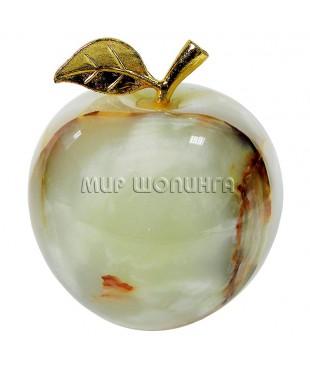 Яблоко из оникса 11*10 см.