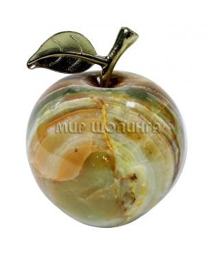 Яблоко из оникса 9*7,2 см.