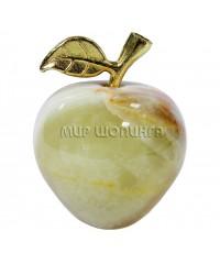 Яблоко из оникса 6*5 см.