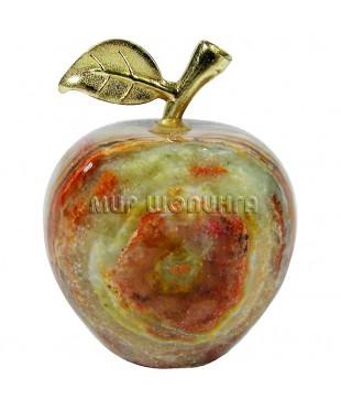Яблоко из оникса 5,5*4,5 см.
