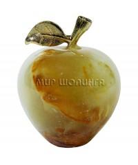 Яблоко из оникса 4*3 см.