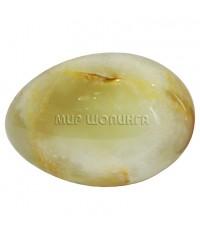 Яйцо из оникса 7х5 см.