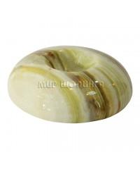 Подставка под яйцо или шар из оникса 1,6*6,3 см.